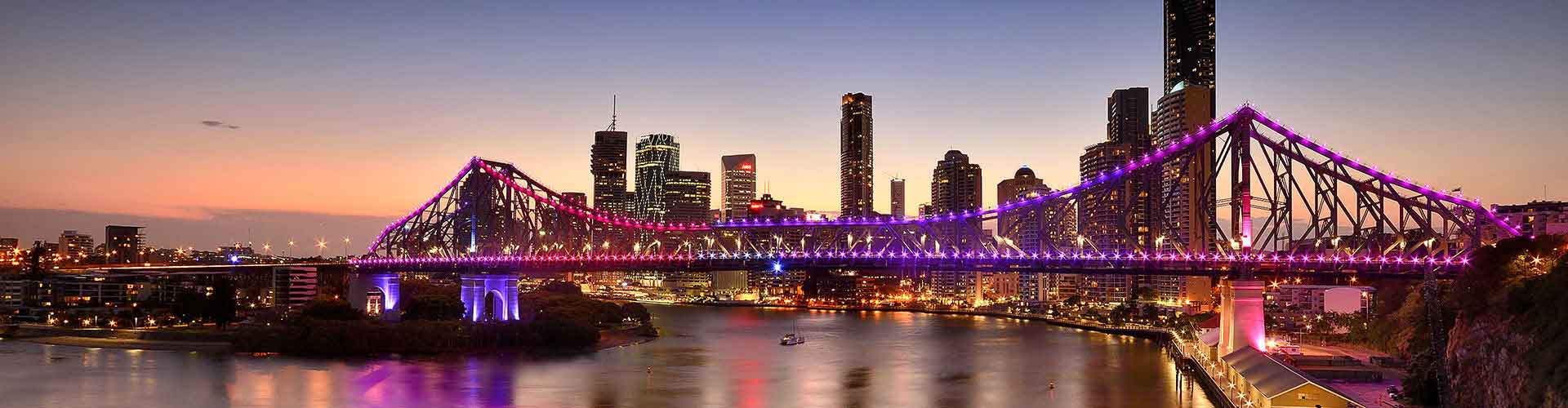 Brisbane – Hostels in the Caxton Street district. Maps for Brisbane, Photos and Reviews for each hostel in Brisbane.