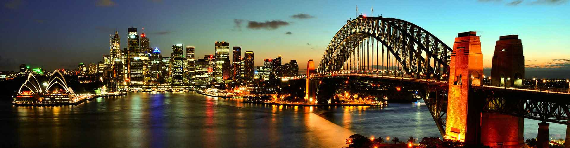 Sydney – Hostels in Sydney. Maps of Sydney, Photos and Reviews for each hostel in Sydney.
