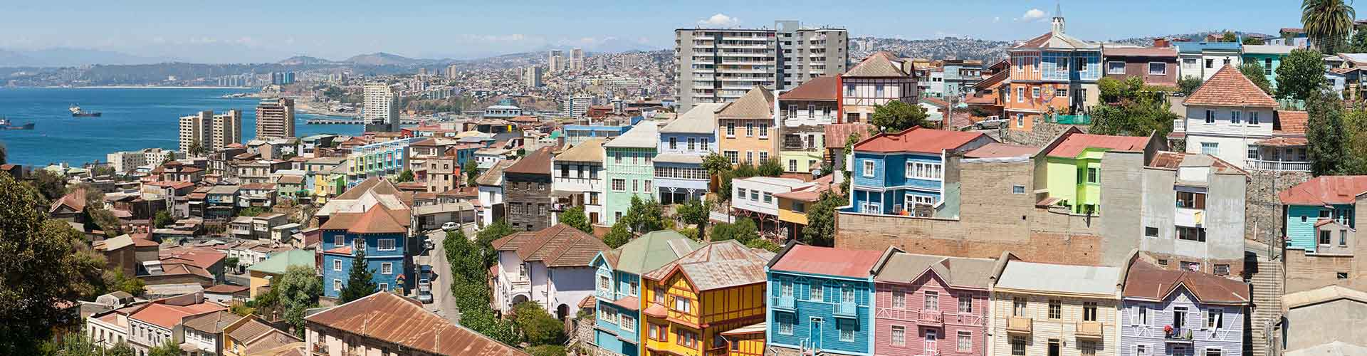 Valparaiso – Hostels in Valparaiso. Maps for Valparaiso, Photos and Reviews for each hostel in Valparaiso.