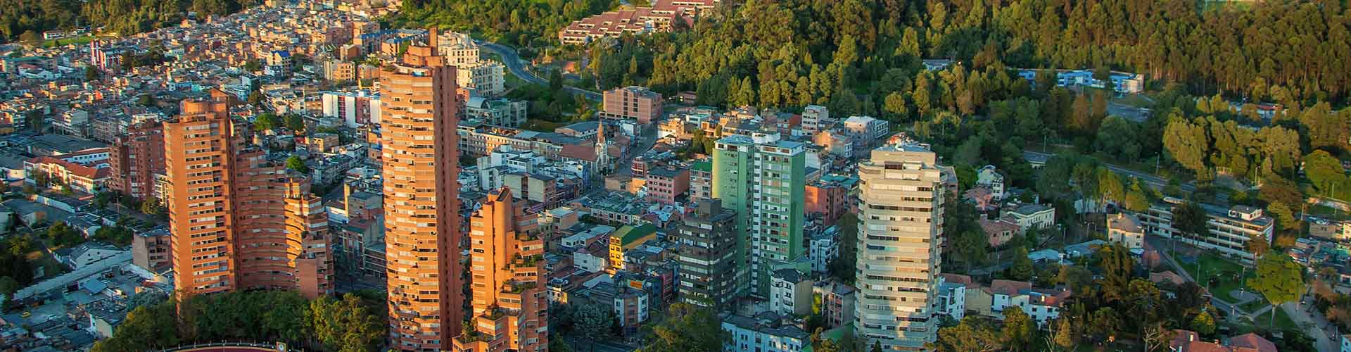 Bogota – Hostels in the Granada district. Maps for Bogota, Photos and Reviews for each hostel in Bogota.