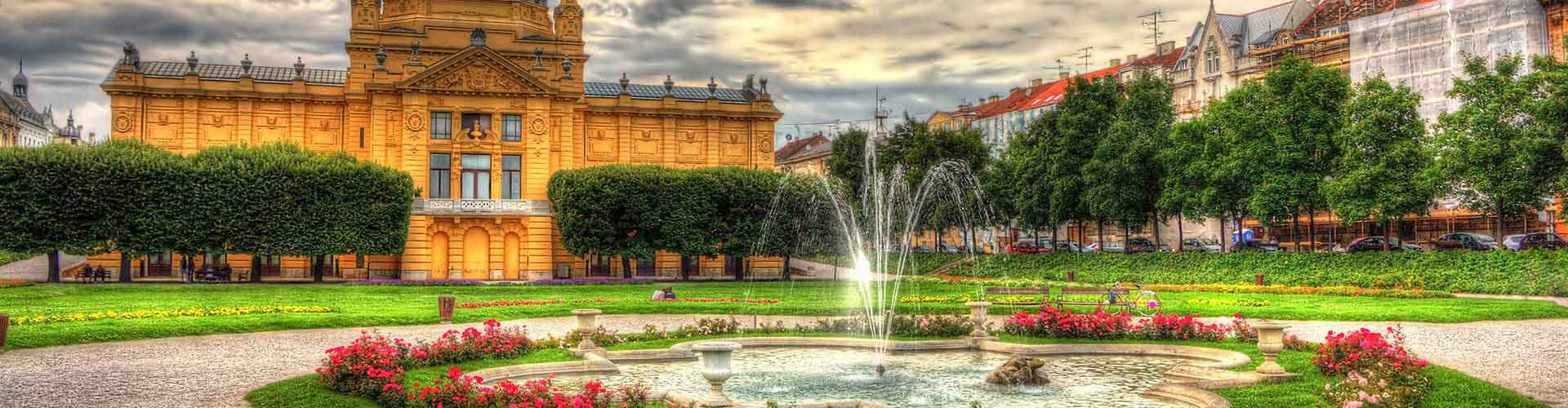 Zagreb – Hostels in Zagreb. Maps for Zagreb, Photos and Reviews for each hostel in Zagreb.