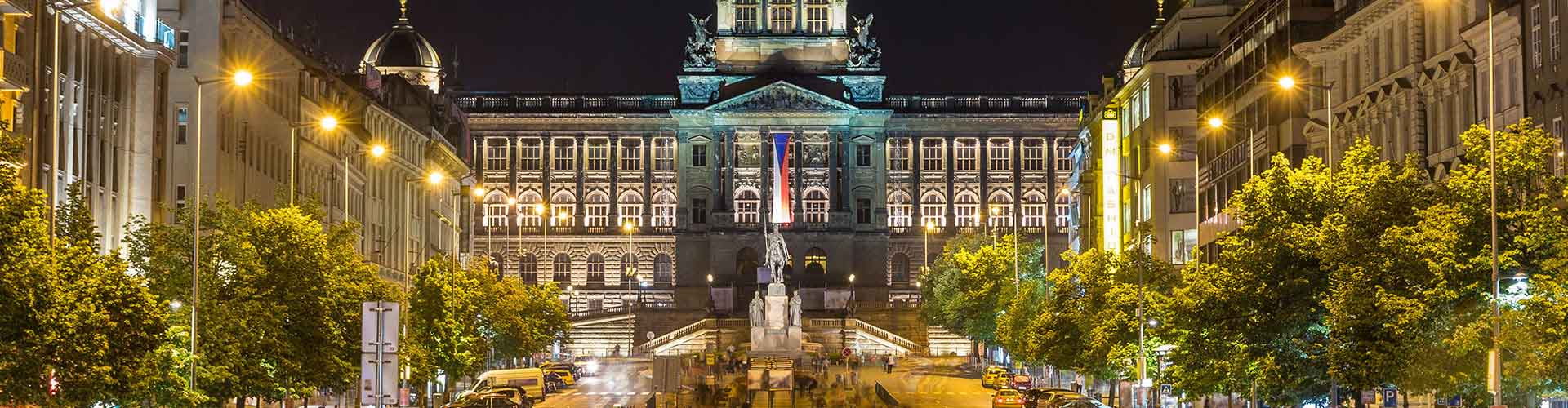 Prague – Hostels close to National Museum and Hotel Europa. Maps for Prague, Photos and Reviews for each hostel in Prague.