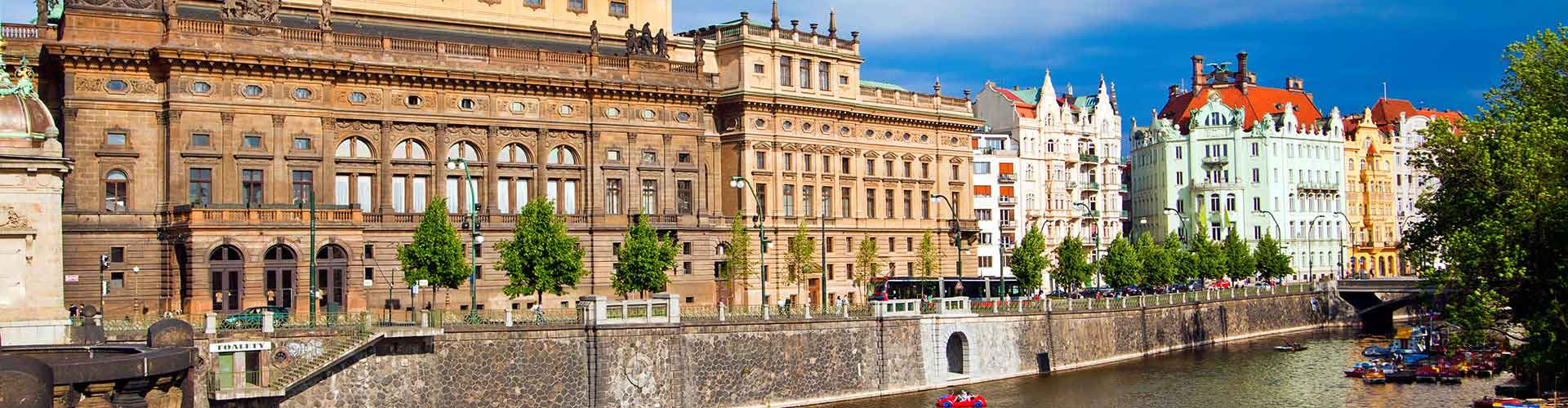 Prague – Hostels close to National Theatre. Maps for Prague, Photos and Reviews for each hostel in Prague.
