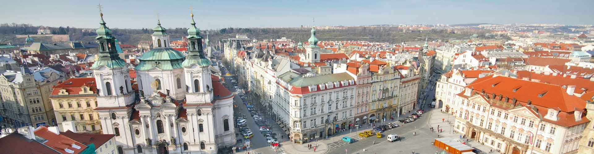 Prague – Hostels close to Old Town Square. Maps for Prague, Photos and Reviews for each hostel in Prague.