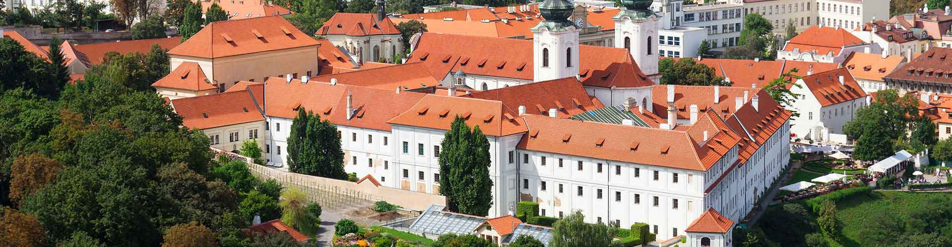 Prague – Hostels close to Strahov Monastery. Maps for Prague, Photos and Reviews for each hostel in Prague.