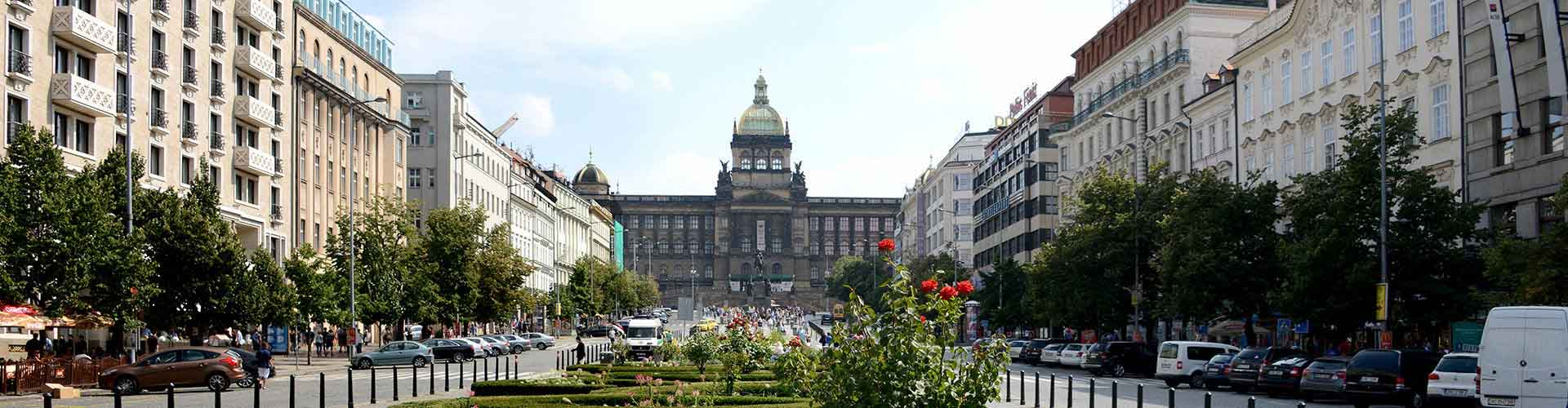 Prague – Hostels close to Wenceslas Square. Maps for Prague, Photos and Reviews for each hostel in Prague.
