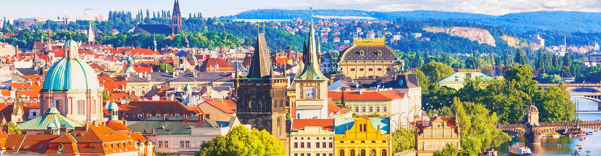 Prague – Hostels in the Repy district. Maps for Prague, Photos and Reviews for each hostel in Prague.