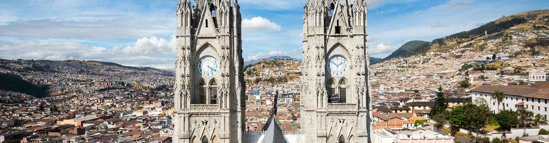 Quito – Student accommodations, hostels and coworking spaces in Quito (Ecuador). Maps of Quito, photos and reviews for each place in Quito.