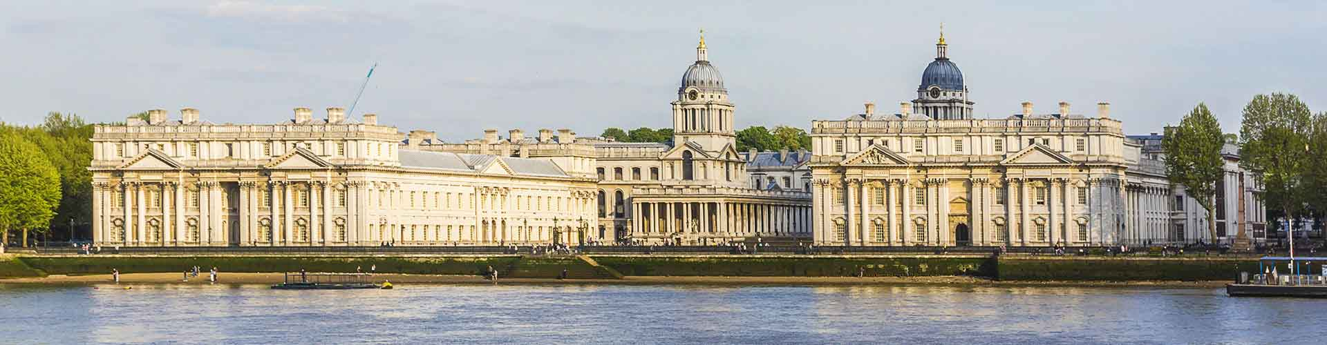 London – Hostels in the Borough of Greenwich district. Maps for London, Photos and Reviews for each hostel in London.