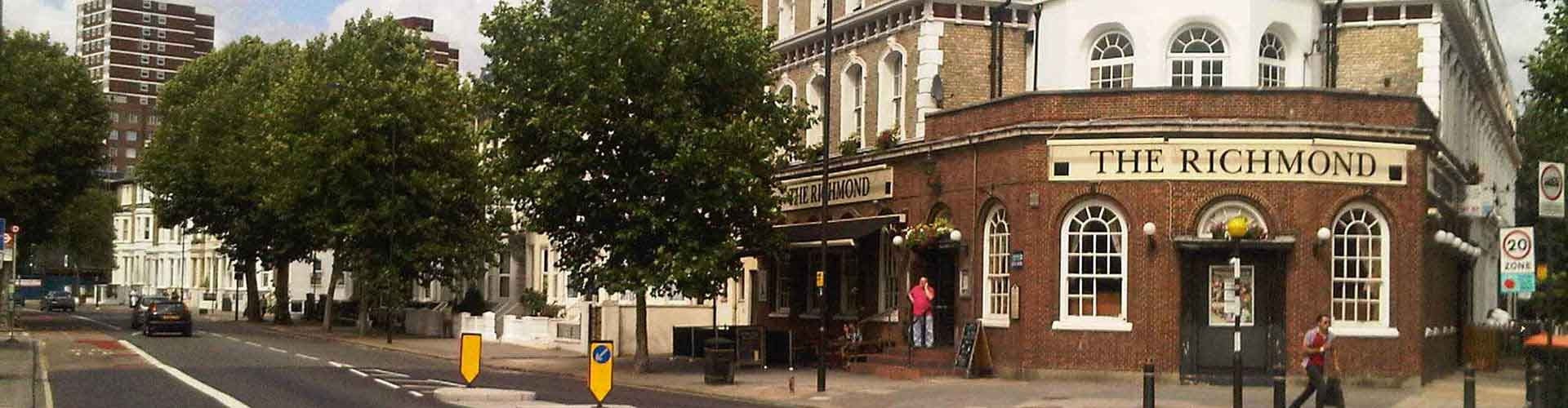 London – Hostels in Borough of Hammersmith and Fulham. Maps of London, Photos and Reviews for each Hostel in London.