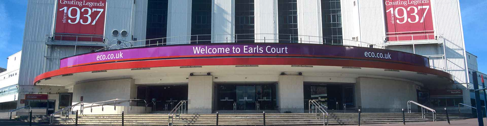 London – Hotels in Earls Court. Maps of London, Photos and Reviews for each Hotel in London.