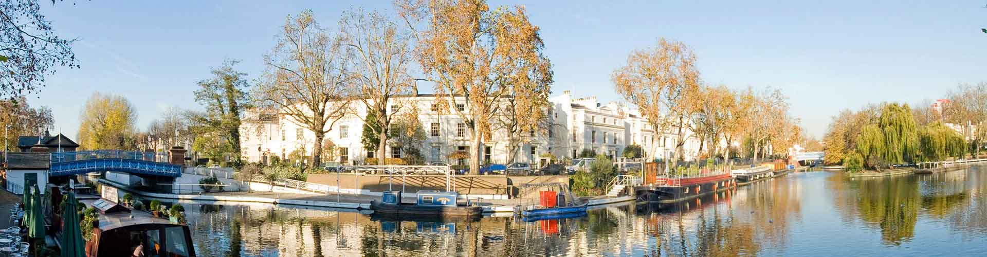 London – Hotels in Little Venice. Maps of London, Photos and Reviews for each Hotel in London.