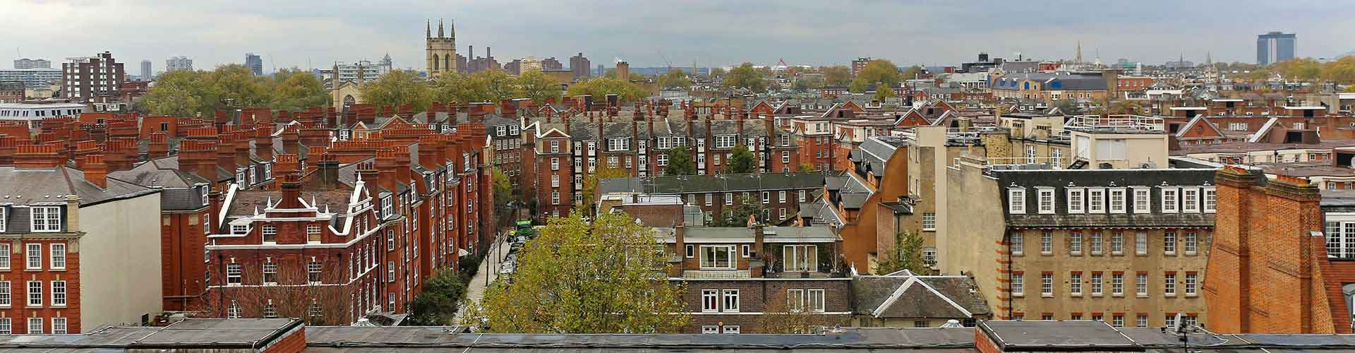 London – Hotels in South Kensington. Maps of London, Photos and Reviews for each Hotel in London.