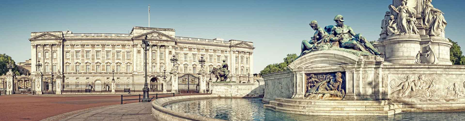 London – Camping close to Buckingham Palace. Maps of London, Photos and Reviews for each camping in London.