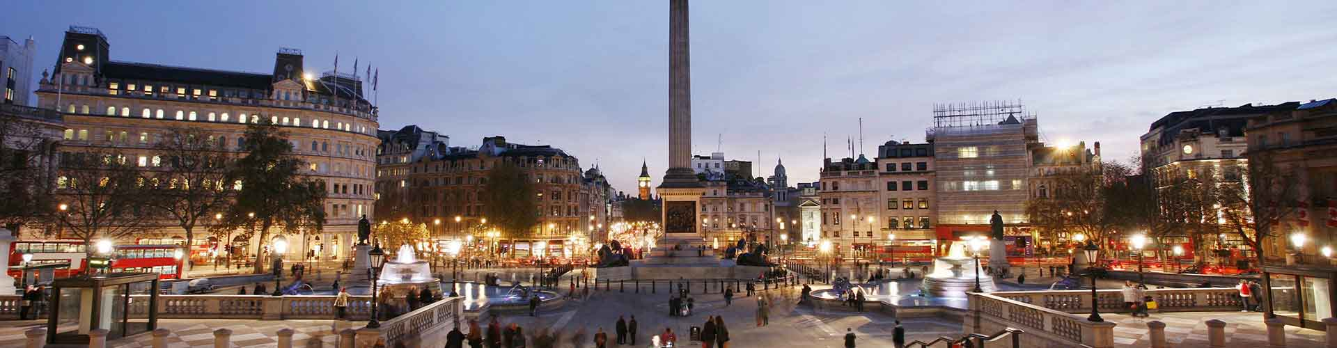 London – Hostels close to Nelson's Column. Maps for London, Photos and Reviews for each hostel in London.