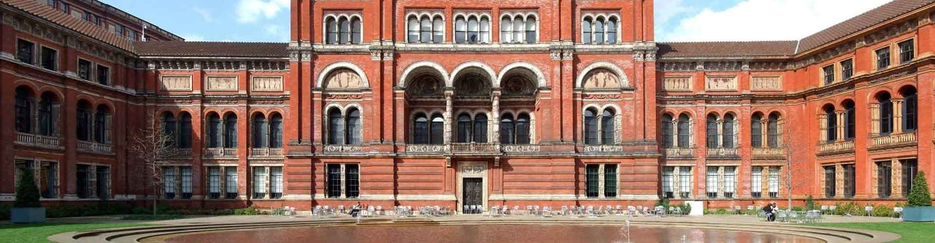 London – Hostels close to Victoria and Albert Museum. Maps for London, Photos and Reviews for each hostel in London.