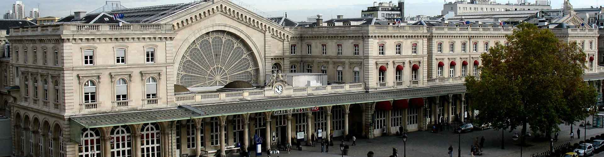 Paris – Hostels in the Gare de l'Est district. Maps for Paris, Photos and Reviews for each hostel in Paris.
