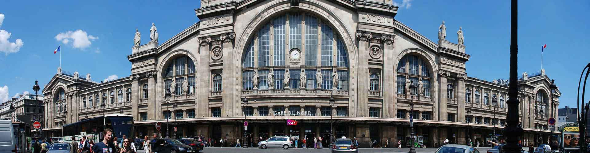 Paris – Hostels in the Train Station Gare du Nord district. Maps for Paris, Photos and Reviews for each hostel in Paris.