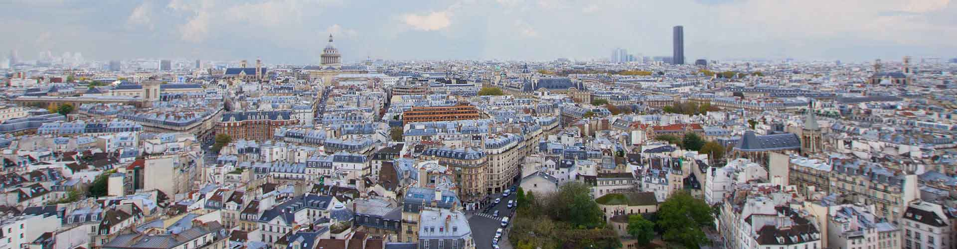 Paris – Albergues no Quartier Latin bairro. Maps for Paris, Photos and Reviews for each Hotel in Paris.