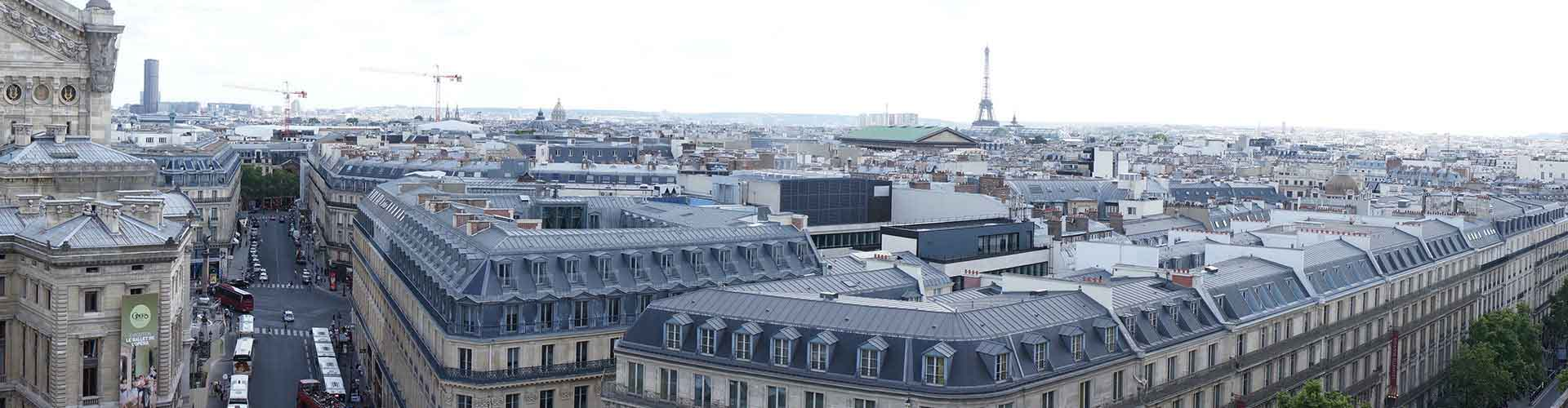 Paris – Hostels close to Galeries Lafayette. Maps of Paris, Photos and Reviews for each Hostel in Paris.