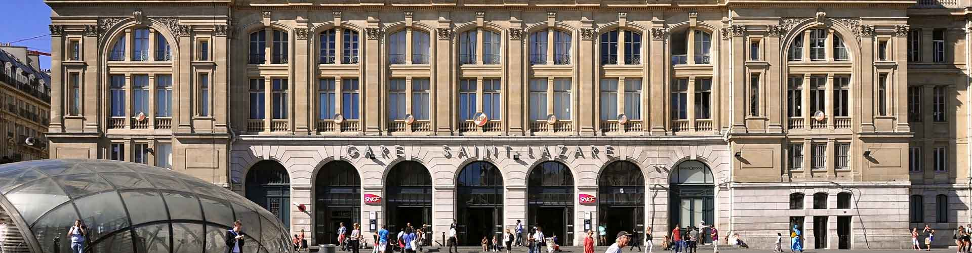 Paris – Hostels close to Gare Saint-Lazare railway station. Maps for Paris, Photos and Reviews for each hostel in Paris.