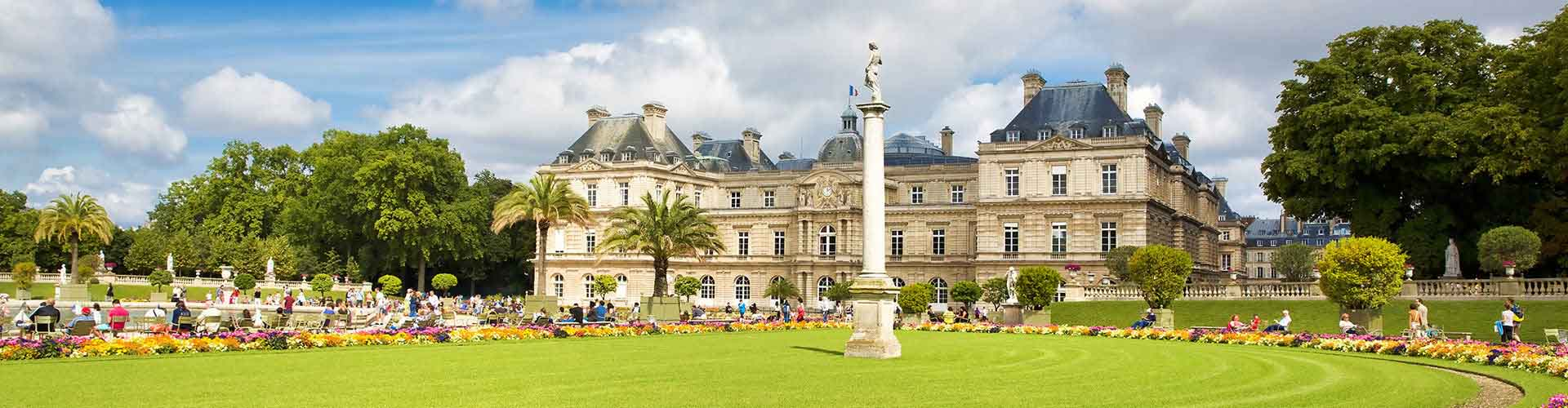 Paris – Hostels close to Jardin du Luxembourg. Maps for Paris, Photos and Reviews for each hostel in Paris.