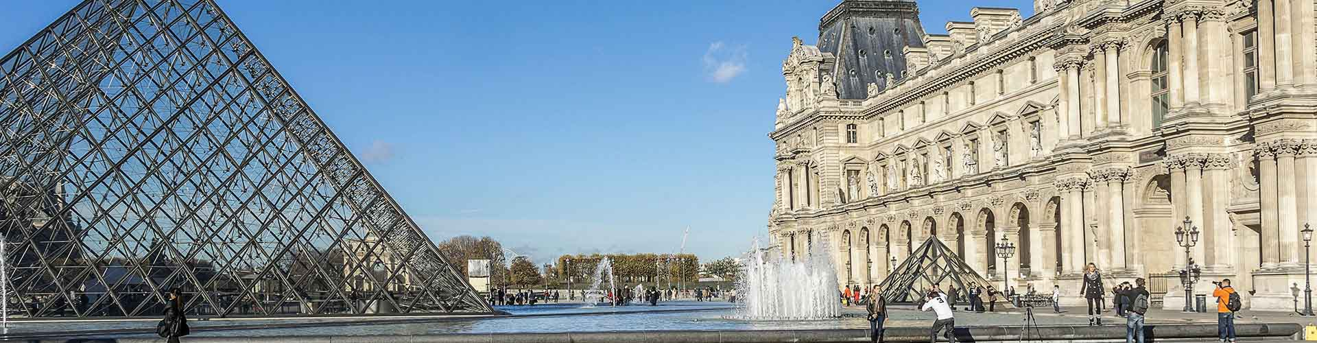 Paris – Camping close to Louvre. Maps of Paris, Photos and Reviews for each camping in Paris.