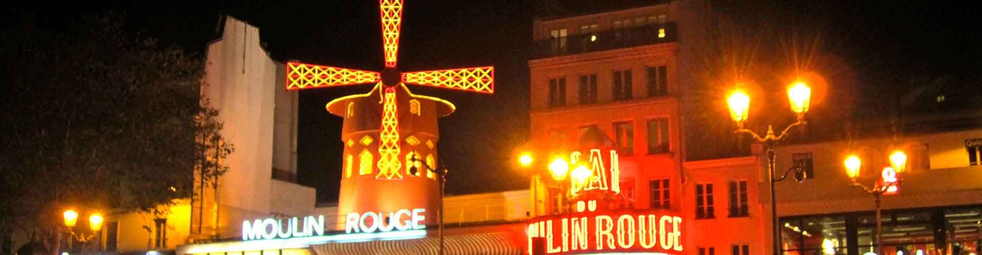 Paris – Hostels close to Moulin Rouge. Maps for Paris, Photos and Reviews for each hostel in Paris.