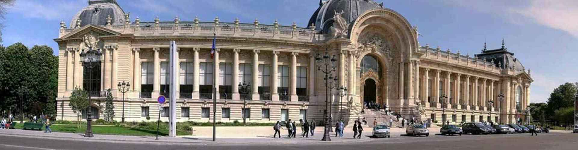 Paris – Hostels close to Petit Palais. Maps of Paris, Photos and Reviews for each Hostel in Paris.
