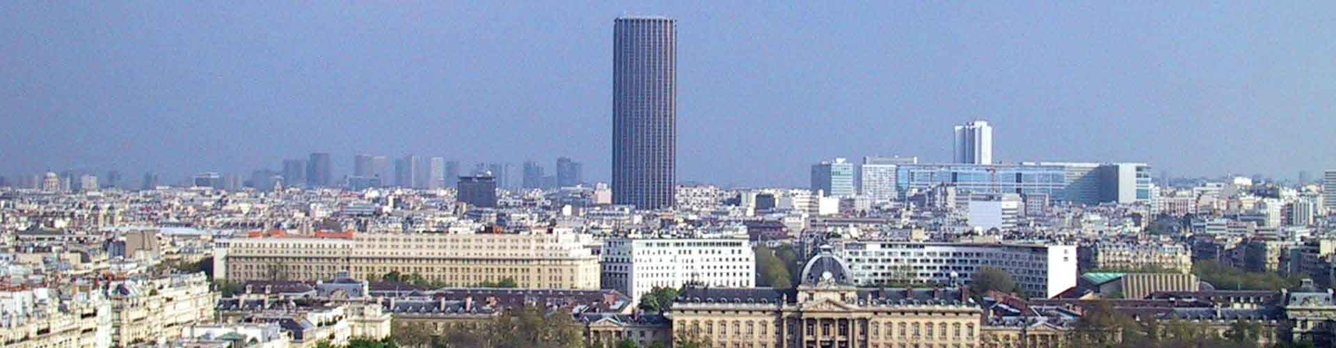 Paris – Hostels close to Tour Montparnasse. Maps of Paris, Photos and Reviews for each Hostel in Paris.