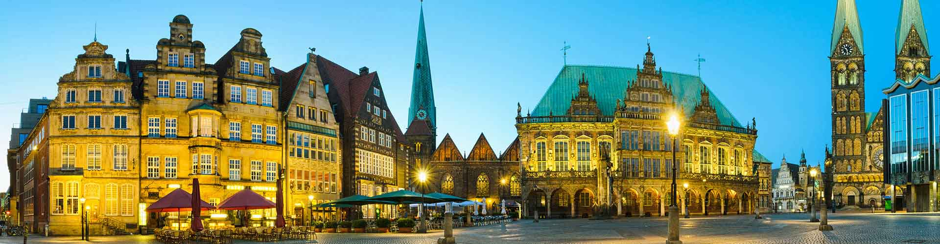 Bremen – Hostels in the Mitte district. Maps for Bremen, Photos and Reviews for each hostel in Bremen.