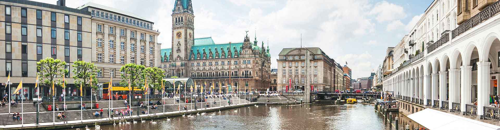 Hamburg – Hostels in Altona-Nord. Maps of Hamburg, Photos and Reviews for each Hostel in Hamburg.