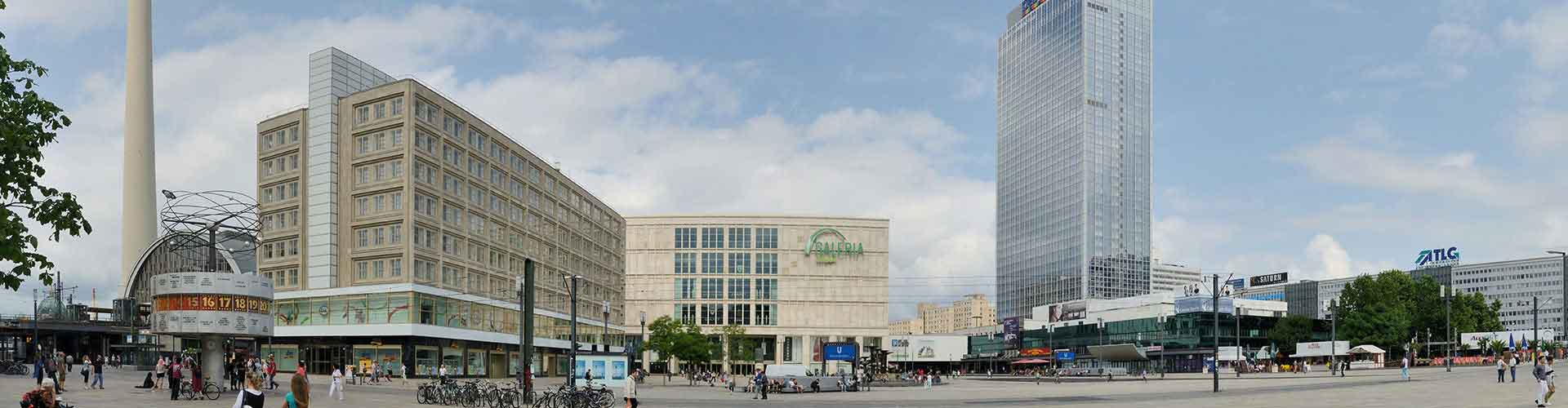Berlin – Cheap Rooms close to Alexanderplatz. Maps of Berlin, Photos and Reviews for each cheap room in Berlin.