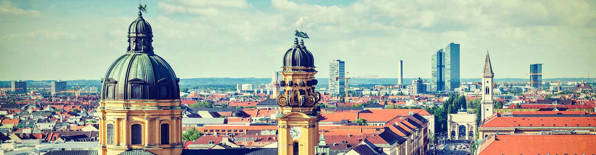 Munich – Hostels in Munich. Maps for Munich, Photos and Reviews for each hostel in Munich.