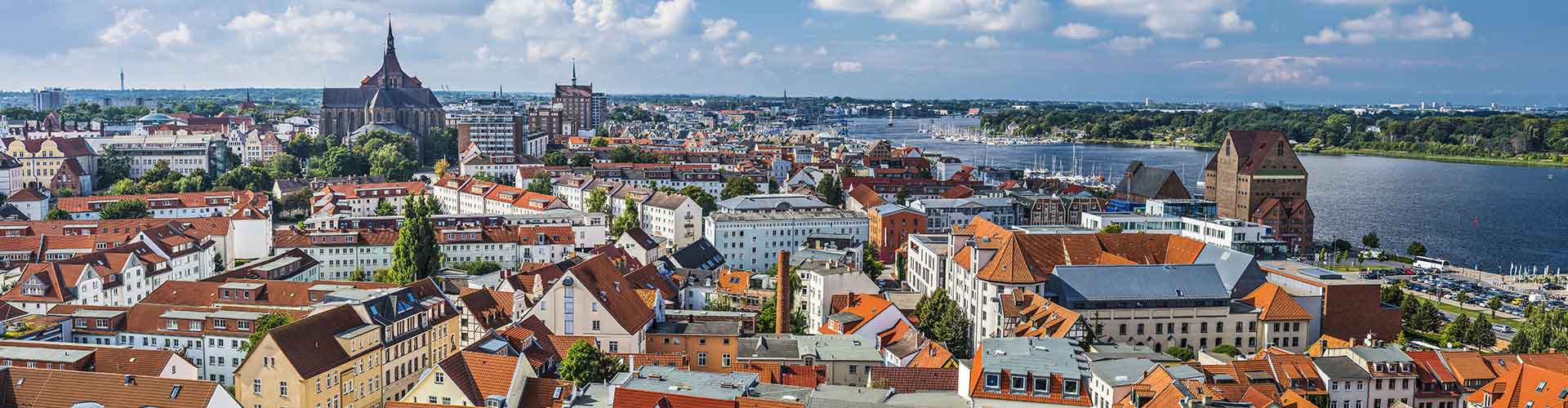 Rostock – Student accommodations, hostels and coworking spaces in Rostock (Německo). Maps of Rostock, photos and reviews for each place in Rostock.