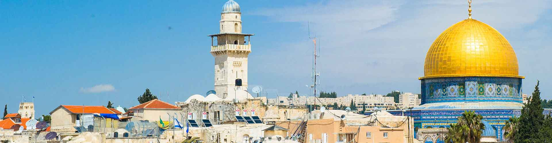 Jerusalem – Hostels in Jerusalem. Maps of Jerusalem, Photos and Reviews for each hostel in Jerusalem.