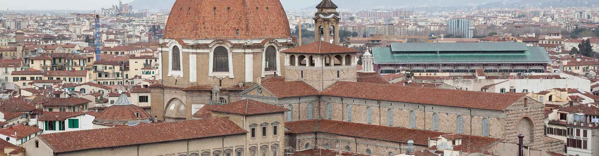 Florence – Cheap Rooms in San Lorenzo. Maps of Florence, Photos and Reviews for each cheap room in Florence.