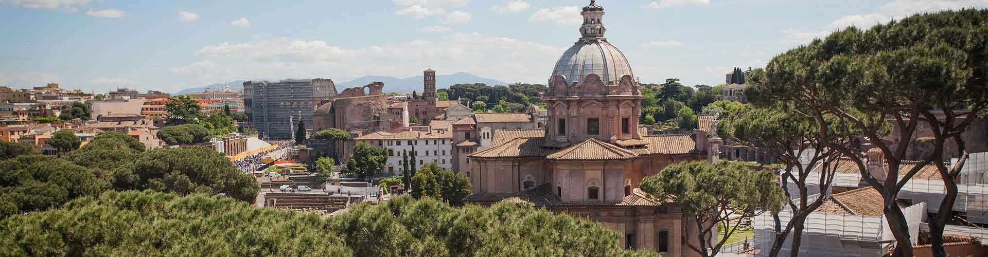 Rome – Camping in Centro. Maps of Rome, Photos and Reviews for each camping in Rome.