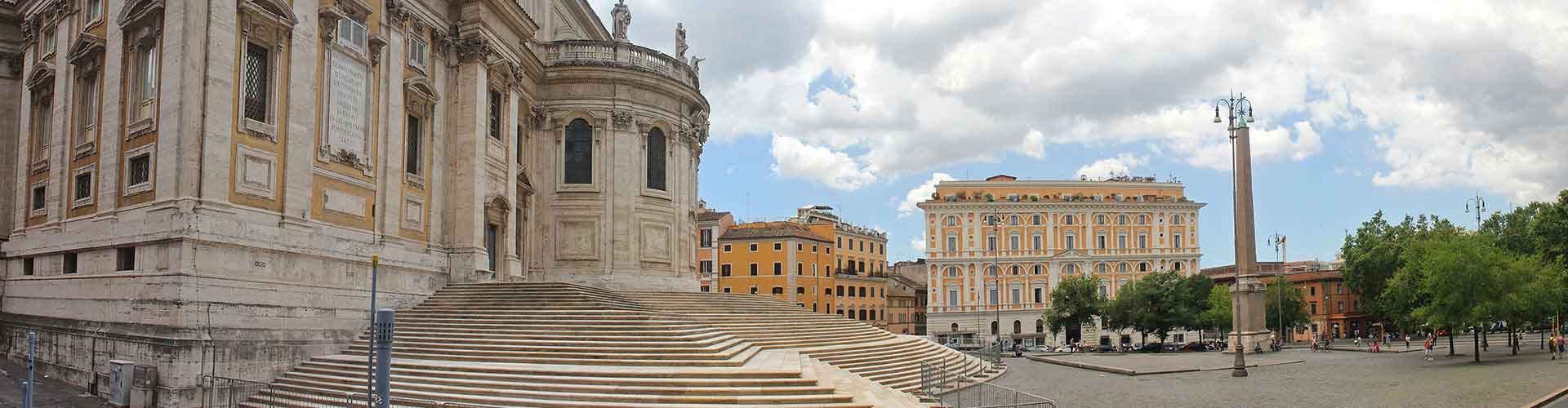 Rome – Hostels in the Esquilino district. Maps for Rome, Photos and Reviews for each hostel in Rome.