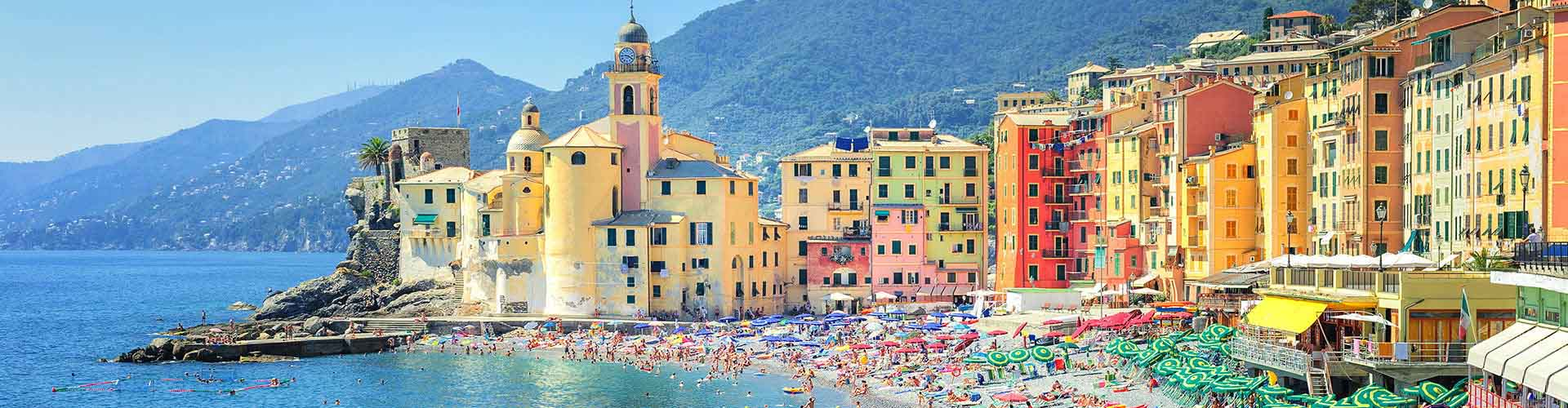 Genoa – Camping in San Vincenzo. Maps of Genoa, Photos and Reviews for each camping in Genoa.