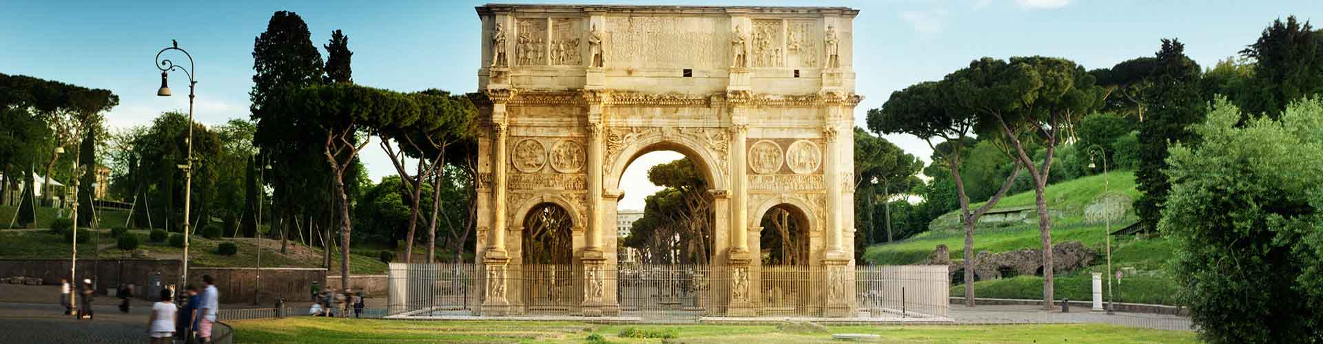Rome – Hostels close to Arch of Constantine. Maps for Rome, Photos and Reviews for each hostel in Rome.