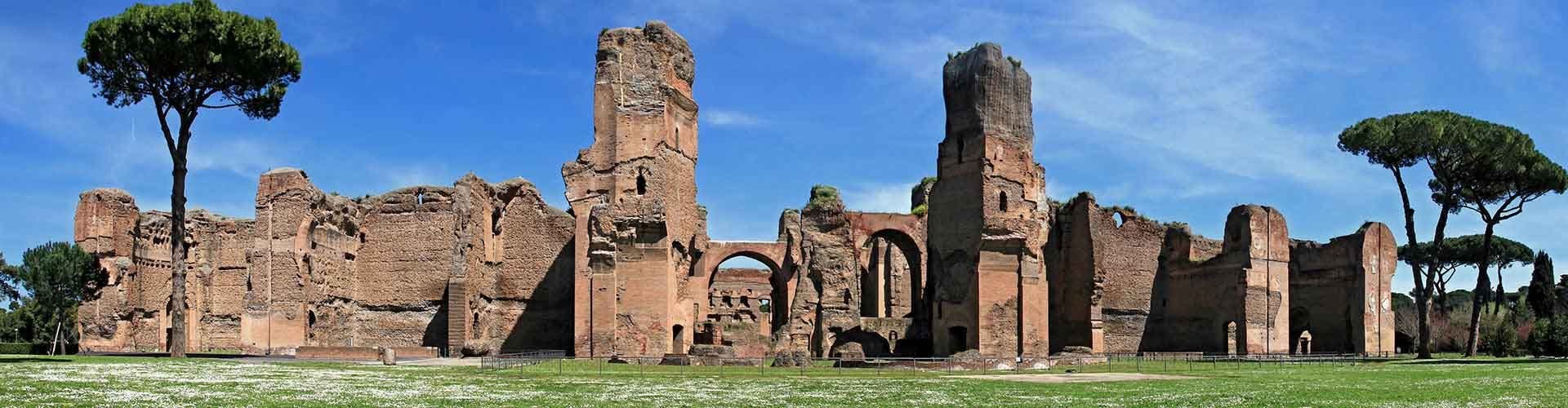 Rome – Hostels close to Baths of Caracalla. Maps for Rome, Photos and Reviews for each hostel in Rome.
