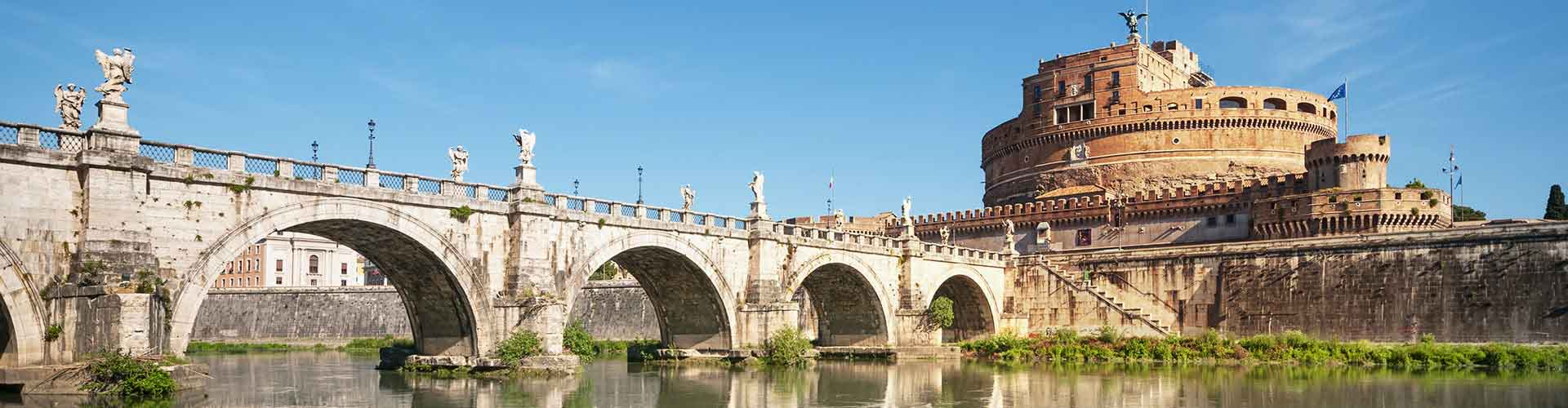 Rome – Camping close to Castel Sant'Angelo. Maps of Rome, Photos and Reviews for each camping in Rome.