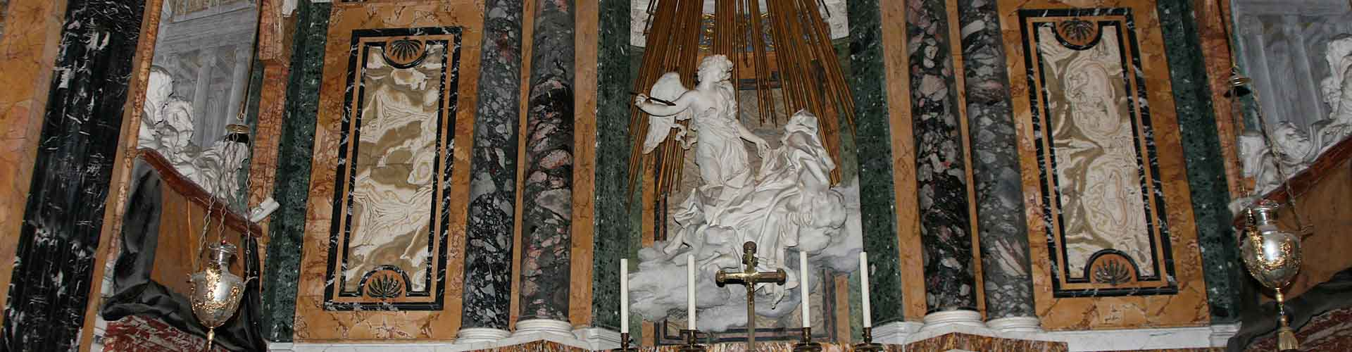 Rome – Camping close to Ecstasy of St Theresa. Maps of Rome, Photos and Reviews for each camping in Rome.