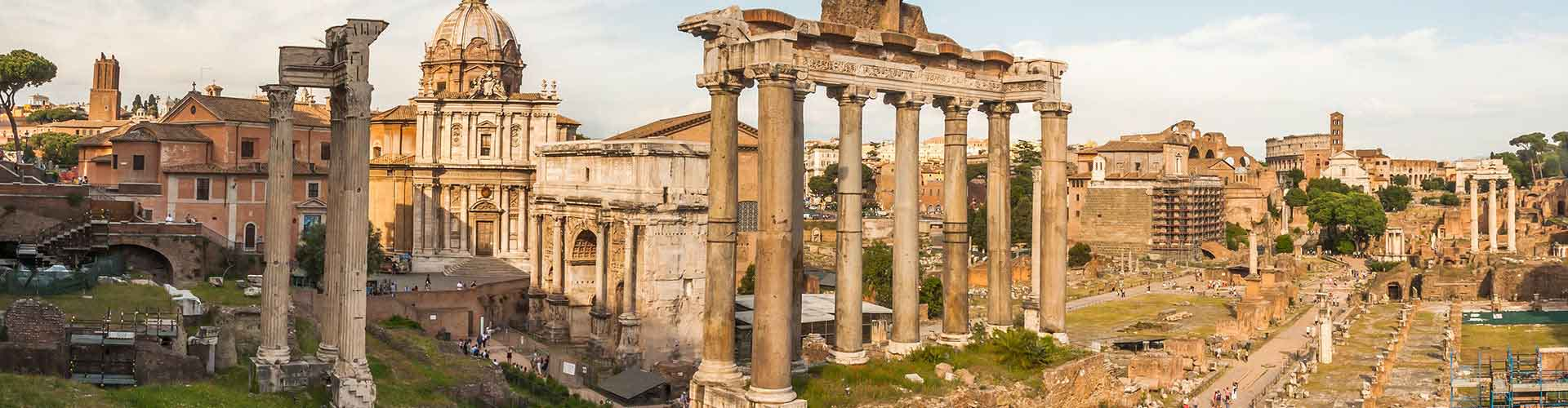 Rome – Camping close to Forum Romanum. Maps of Rome, Photos and Reviews for each camping in Rome.