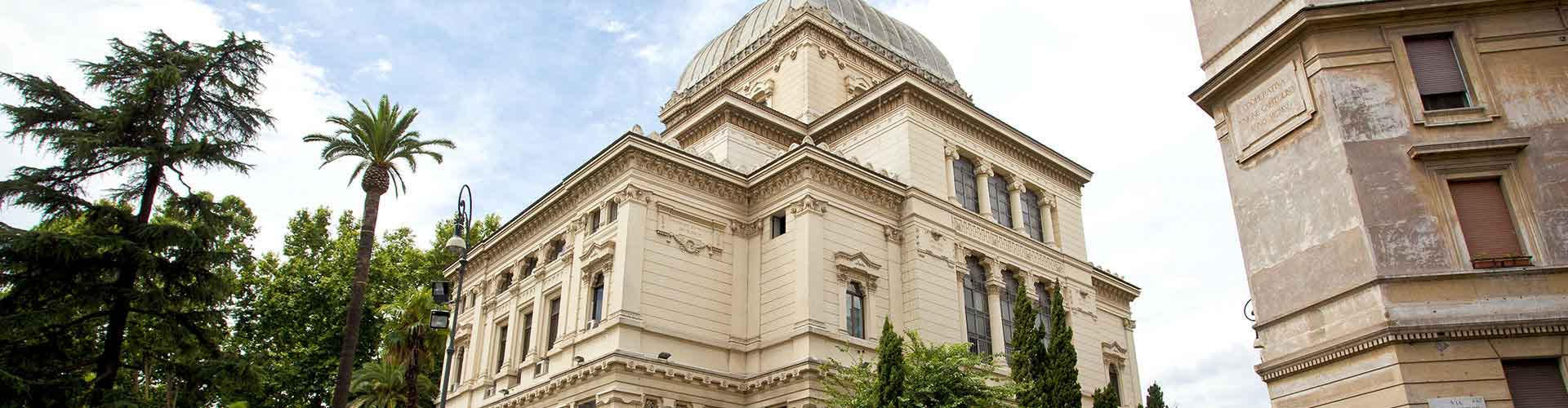 Rome – Hostels close to Great Synagogue of Rome. Maps for Rome, Photos and Reviews for each hostel in Rome.