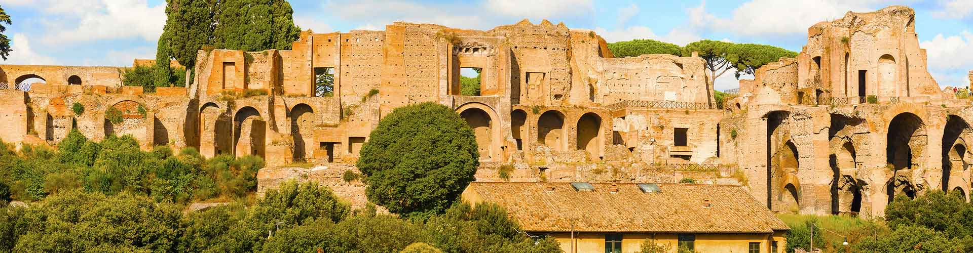 Rome – Hostels close to Palatine Hill. Maps for Rome, Photos and Reviews for each hostel in Rome.