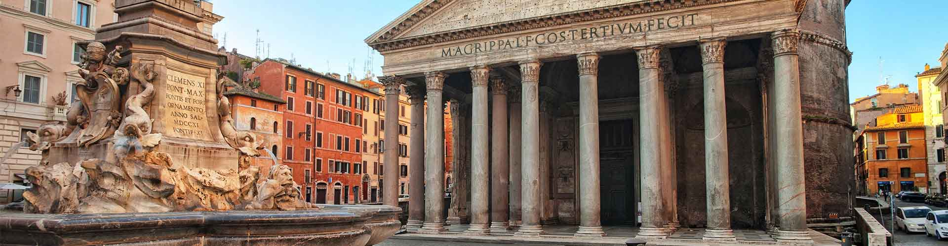 Rome – Camping close to Pantheon. Maps of Rome, Photos and Reviews for each camping in Rome.