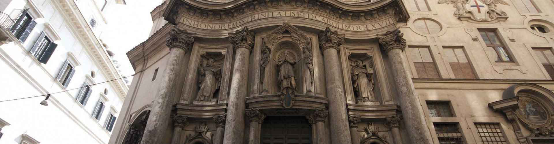 Rome – Camping close to San Carlo alle Quattro Fontane. Maps of Rome, Photos and Reviews for each camping in Rome.