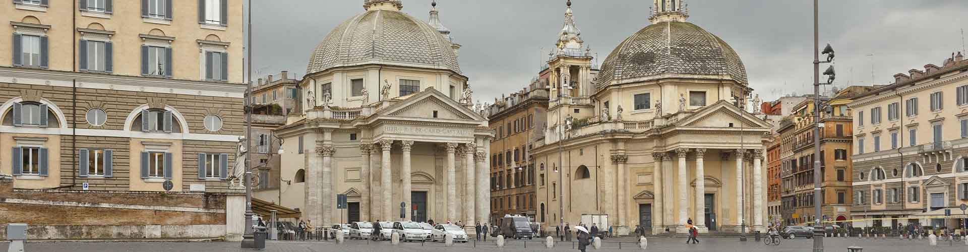 Rome – Hostels close to Santa Maria del Popolo. Maps for Rome, Photos and Reviews for each hostel in Rome.